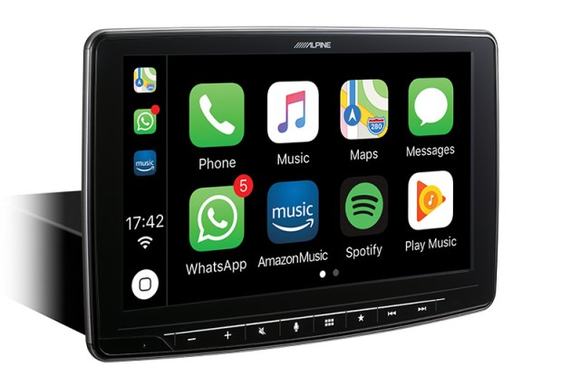 Alpine iLX-F903D Digital Media Receiver mit Digitalradio und Bluetooth