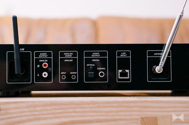 auna iTuner 320 Anschlüsse analog digital USB