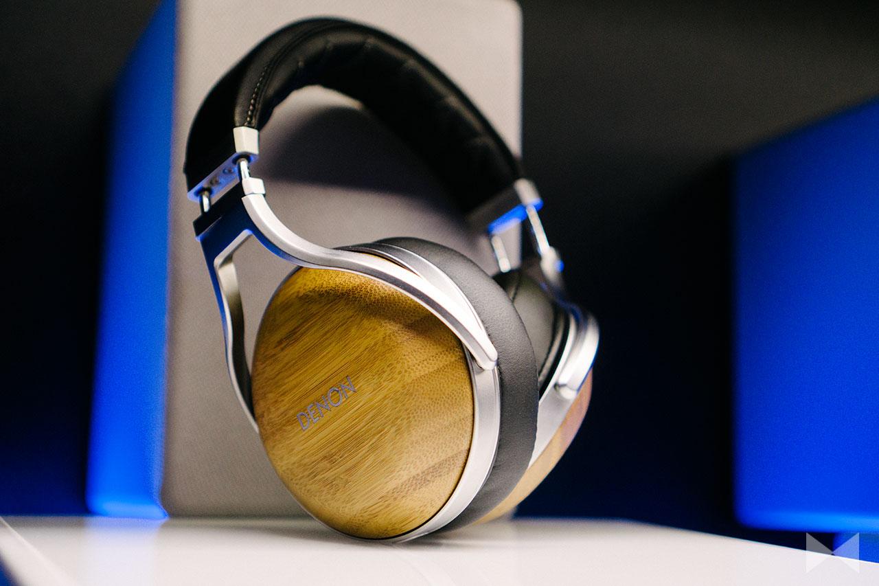 Denon AH-D9200 Over-Ear-Kopfhörer aus Bambusholz