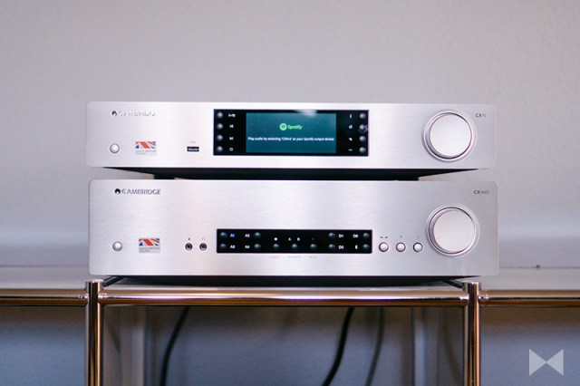 Cambridge Audio CXA60 Test mit CXN V2 Streamer
