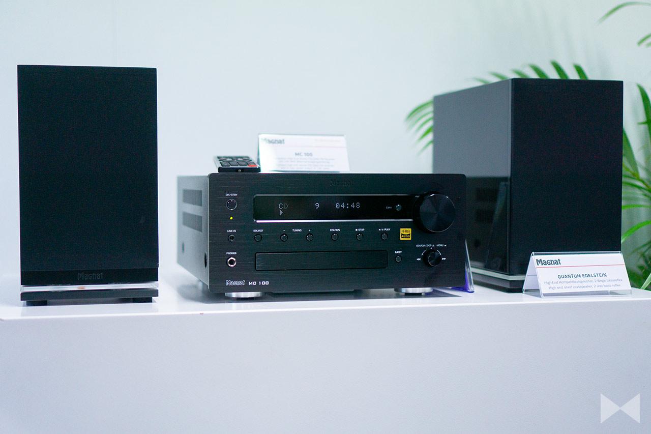 Magnat MC 100: CD-Receiver mit Bluetooth und Hi-Res-Audio-Zertifikat