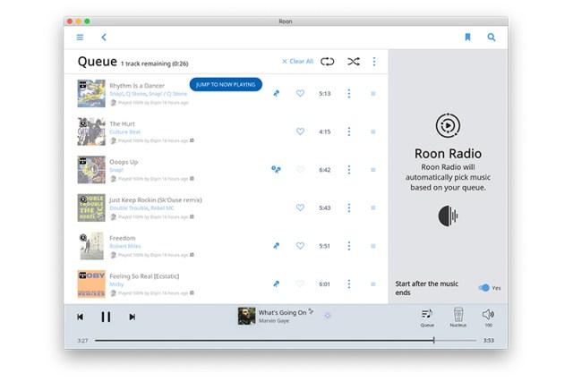 Roon Radio in der Musiksoftware Roon 1.6