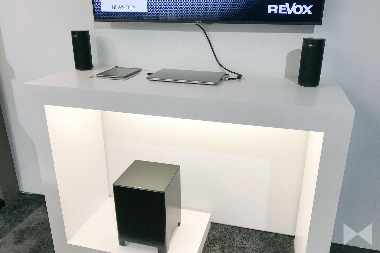 Revox Studioart A100 / AB100: WLAN-Speaker und -Soundbar