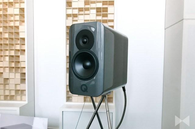 Q Acoustics Concept 300 Dual-Gelcore Lautsprecher-Gehäuse