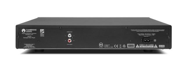 Cambridge Audio AXC25 CD-Player Back