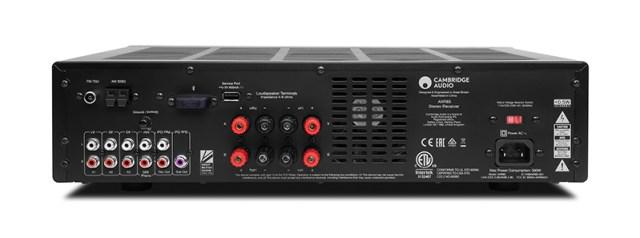 Cambridge Audio AXR85 Anschlüsse auf der Rückseite