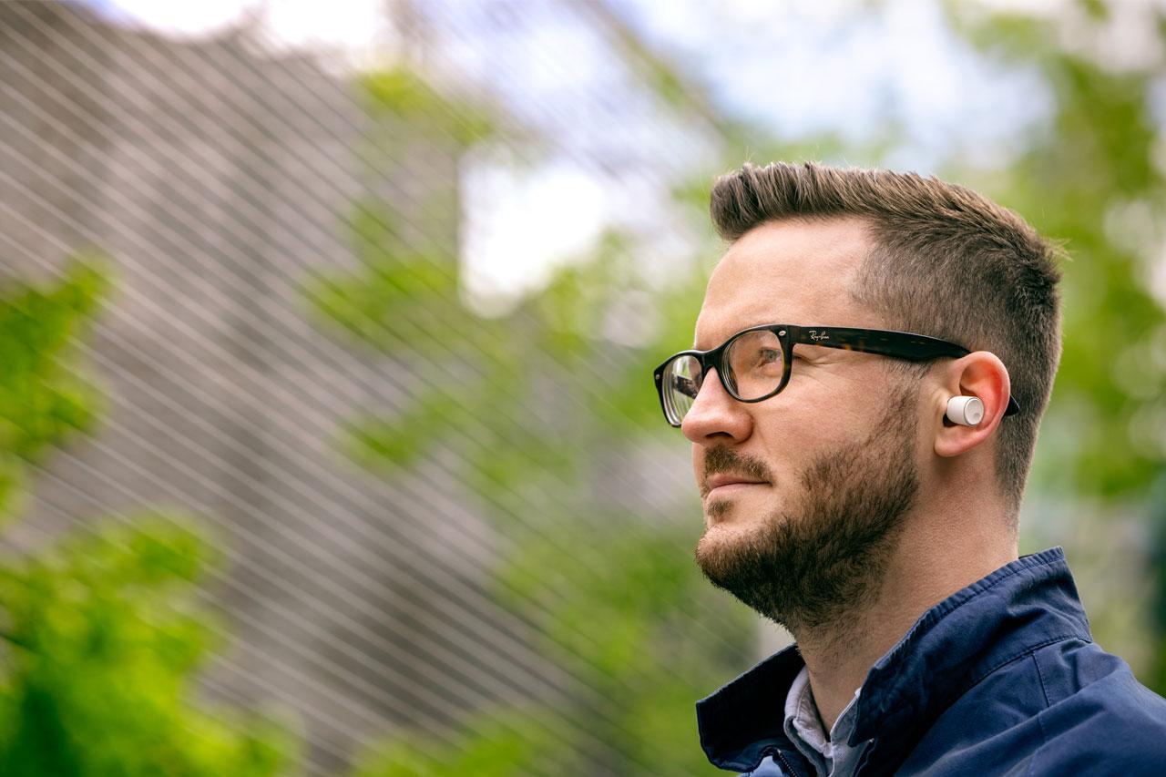 45 Stunden Akkulaufzeit Cambridge Audio Melomania 1 Kabellose In-Ear-Kopfhörer