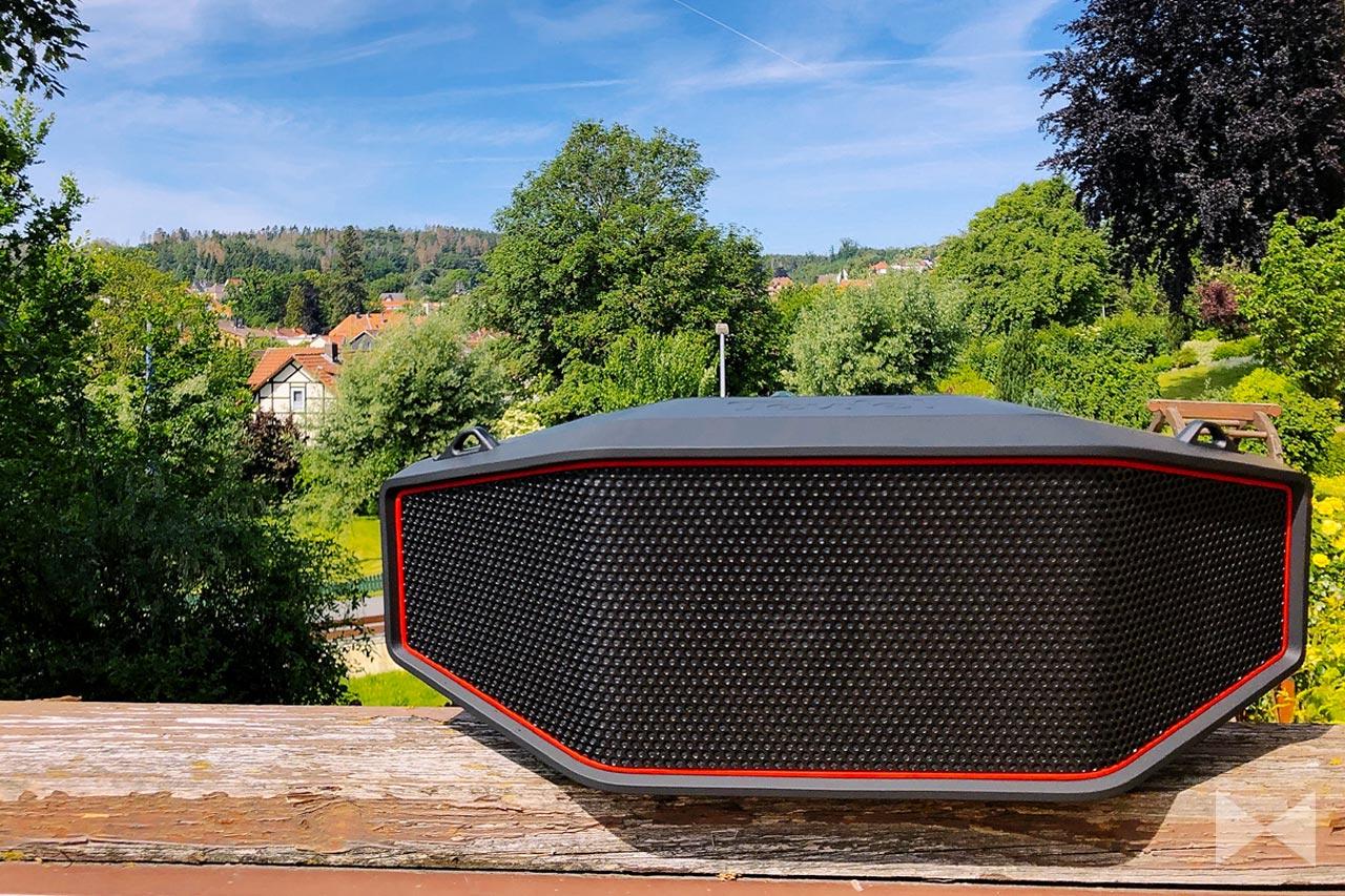 Teufel Rockster Cross Test: robuster Bluetooth-Lautsprecher mit Tragegurt