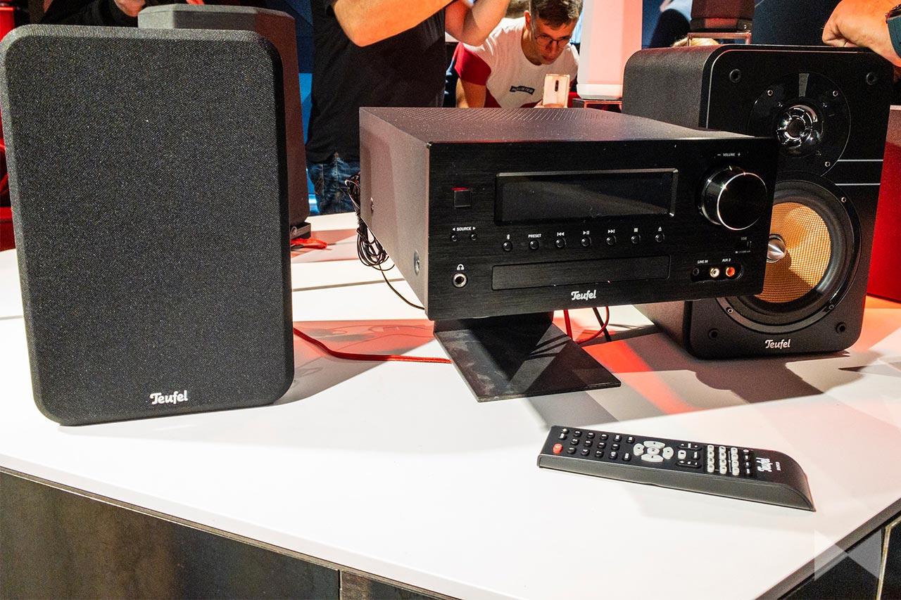 Teufel Ultima 20 Kombo: Stereo-HiFi-Anlage mit Bluetooth und DAB+