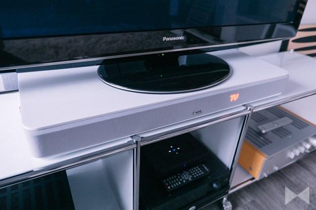 Teufel Cinedeck mit Smart-TV von Panasonic