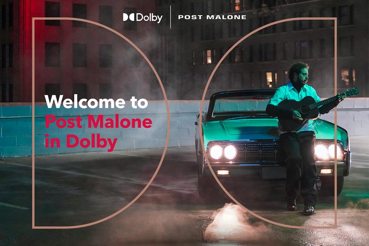 Dolby Atmos Music: 3D-Tonformat für Tidal und Co. Post Malone