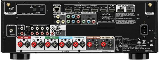 Denon-AVR-X2700H-DAB 8K-AV-Receiver 2020