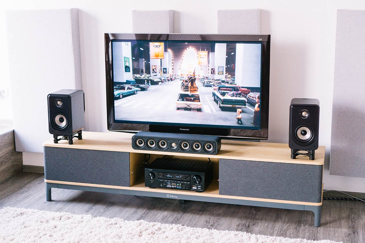 Heimkino 1x1: Ratgeber für Kinoton zuhause mit dem AV-Receiver Denon AVR-X1600H DAB