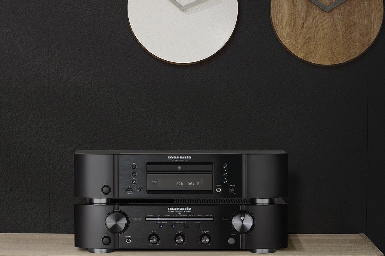 Marantz PM6007 / CD6007 Stereo-Verstärker und CD-Player