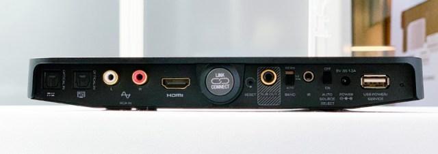 Dali Sound Hub Compact Vorverstärker Anschlüsse auf der Rückseite