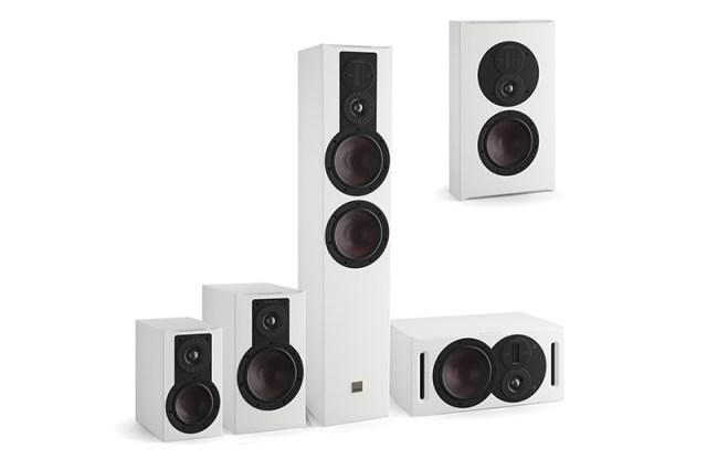 Dali Opticon MK2 Standlautsprecher, Regallautsprecher, Center, On-Wall-Speaker