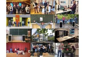 Nubert spendet Lautsprecher im Wert von 14.000 Euro – auch 2021