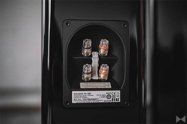 Elac FS 287 Bi-Wiring-Amping-Terminal