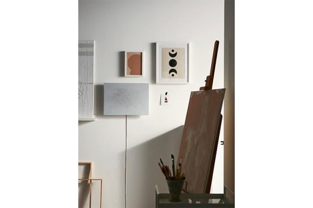 Ikea / Sonos Symfonisk Rahmen WLAN-Lautsprecher in Weiß