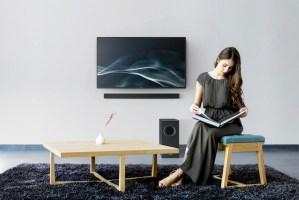 Panasonic SC-HTB496 schlanke Soundbar für 300 Euro