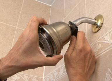 install shower head