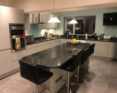 A Stylish Family Kitchen   Modern Homes     a new kitchen or bathroom  We had such peace of mind knowing that our  project was being managed by a specialist designer and expert installation  team