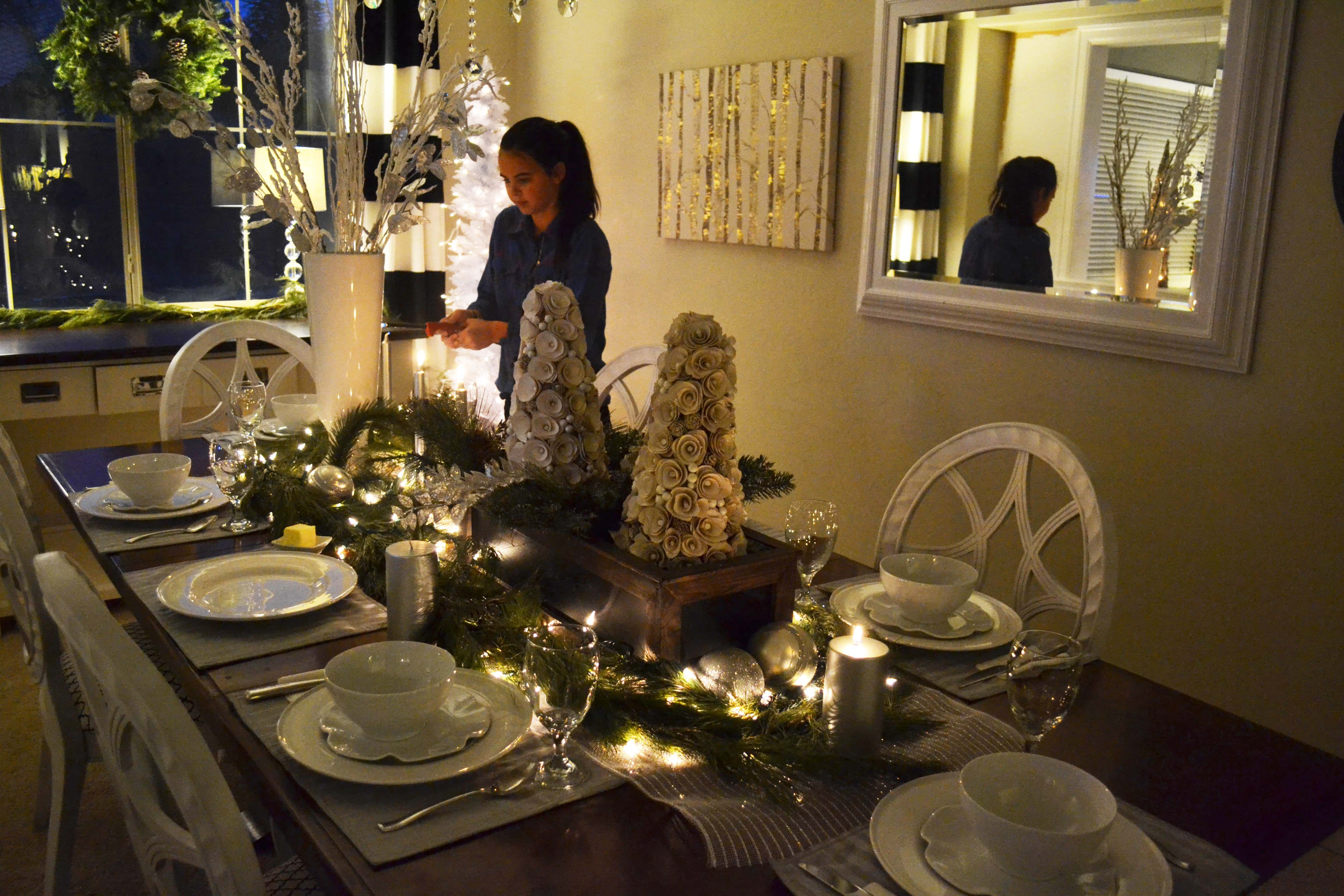 natural winter decor and tablescapes modern honey