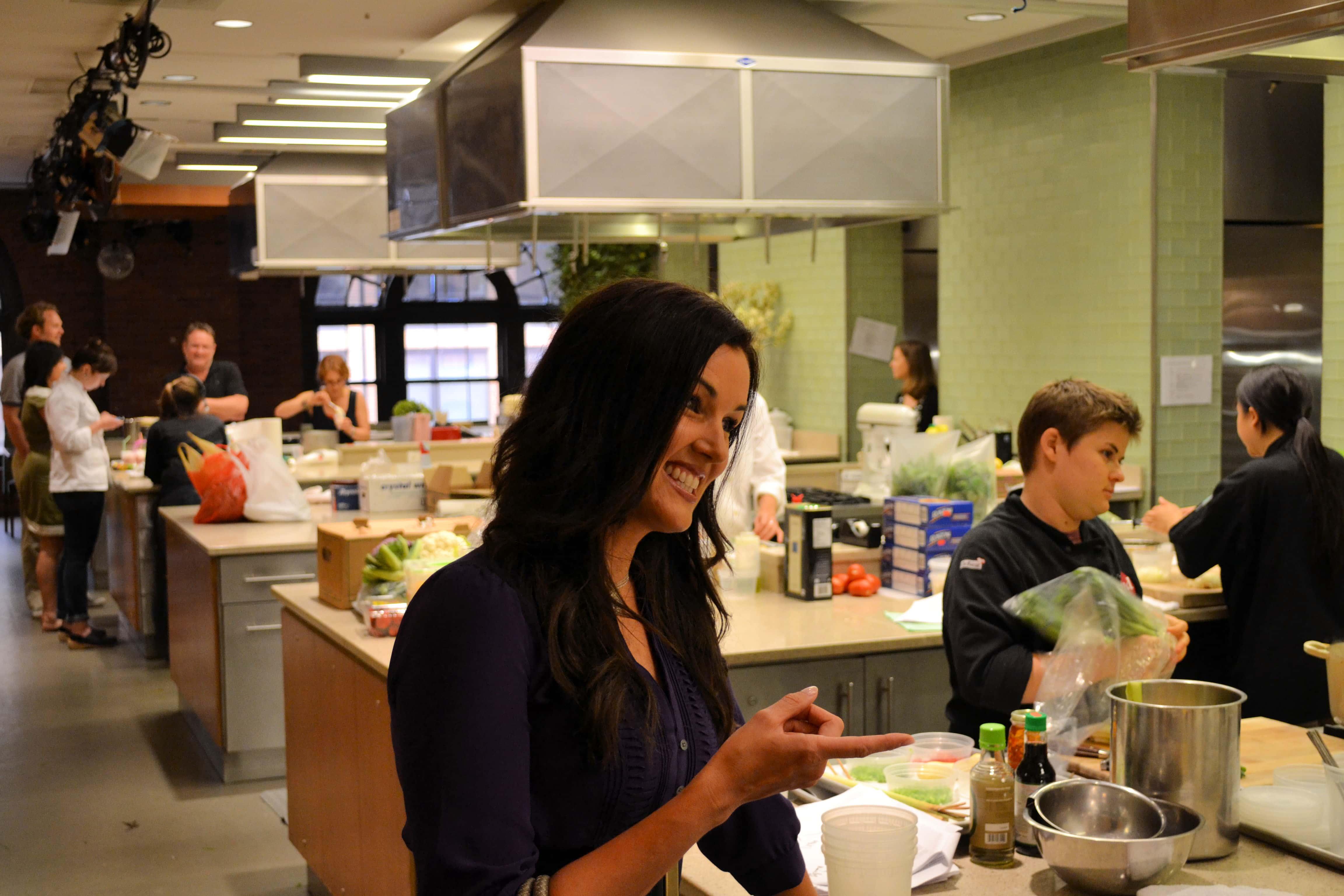 Food Network Studios, Melissa Stadler