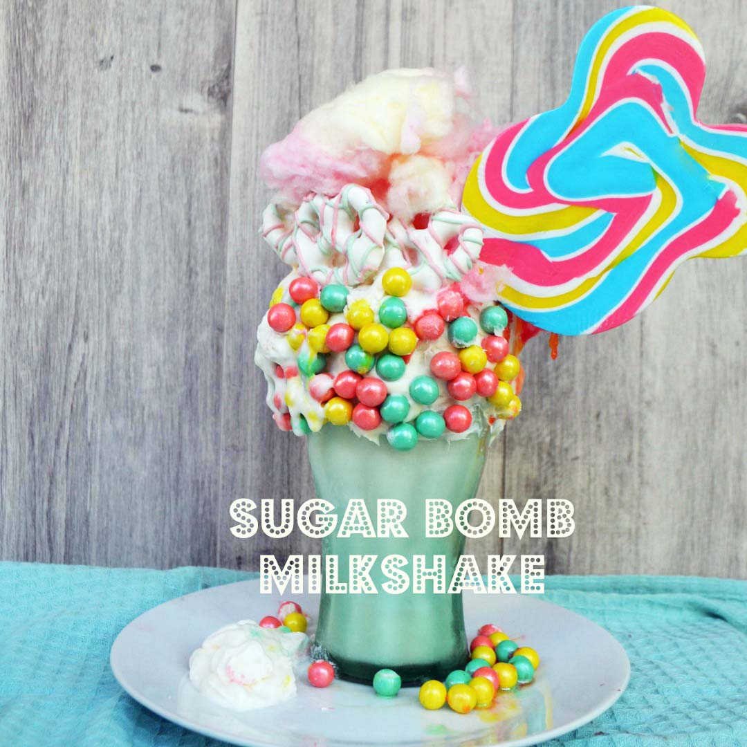 Black Tap Milkshake Copycat Recipe by Modern Honey from 20 of the Best Freak Shakes via Kara's Party Ideas
