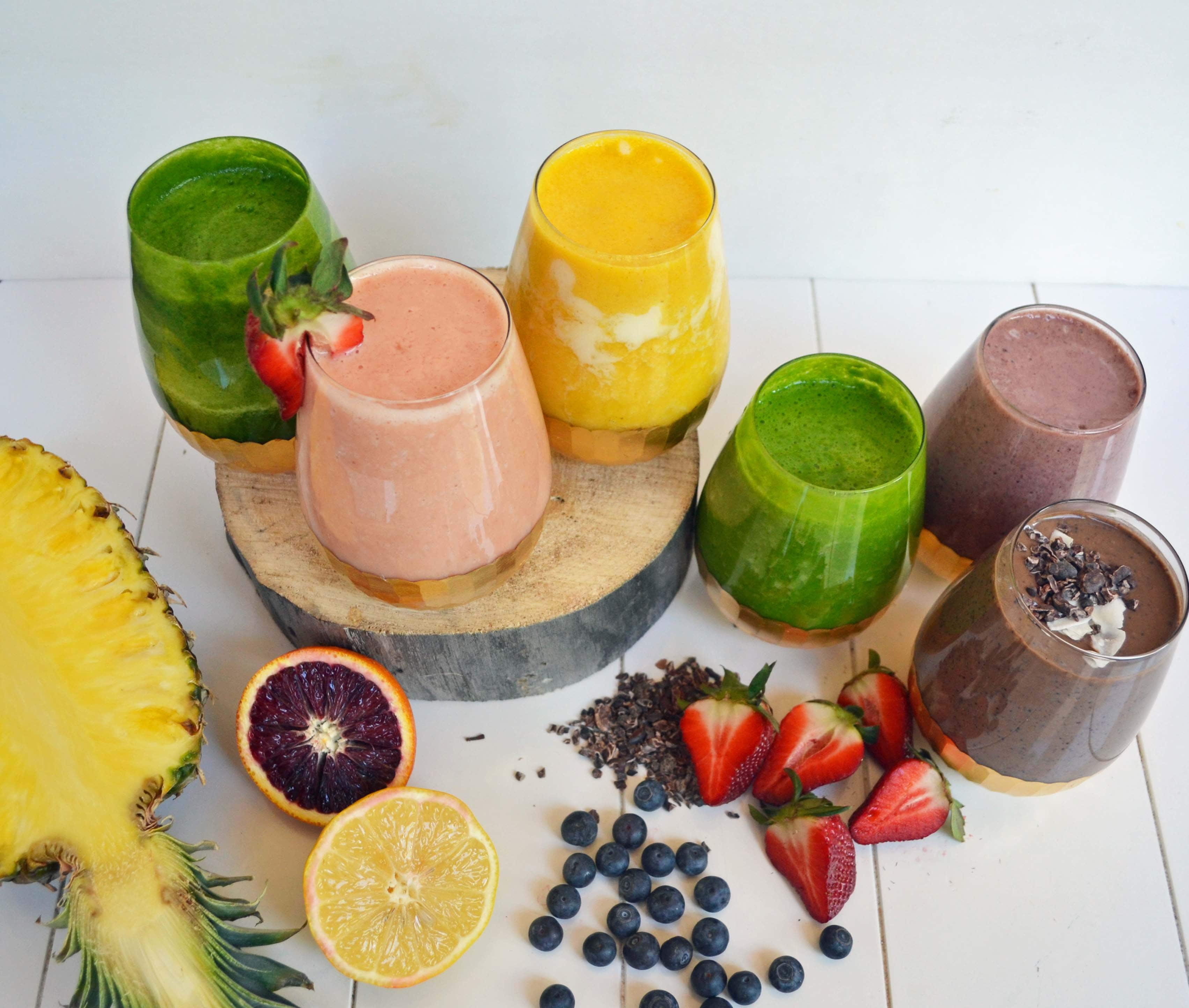 6 Healthy Superfood Smoothies