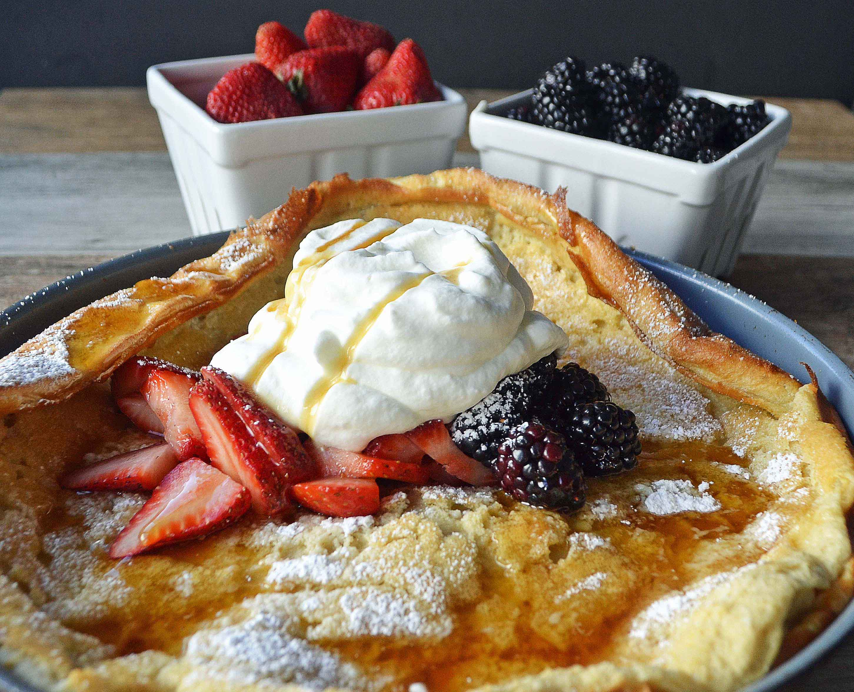 Dutch Baby Puff Pancake by Modern Honey