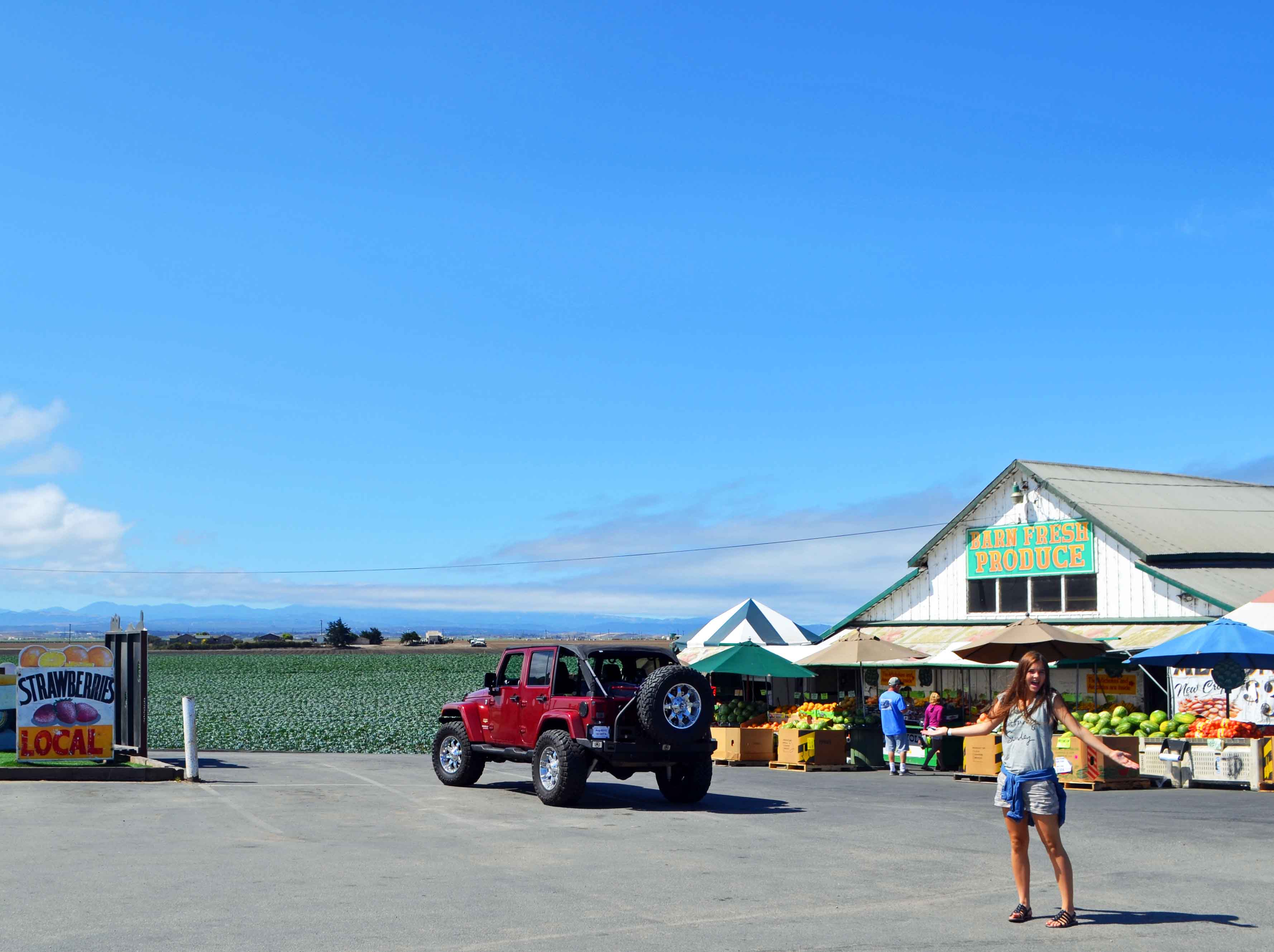 Farmer's Markets California Pacific Coast Highway 1 Road Trip Guide