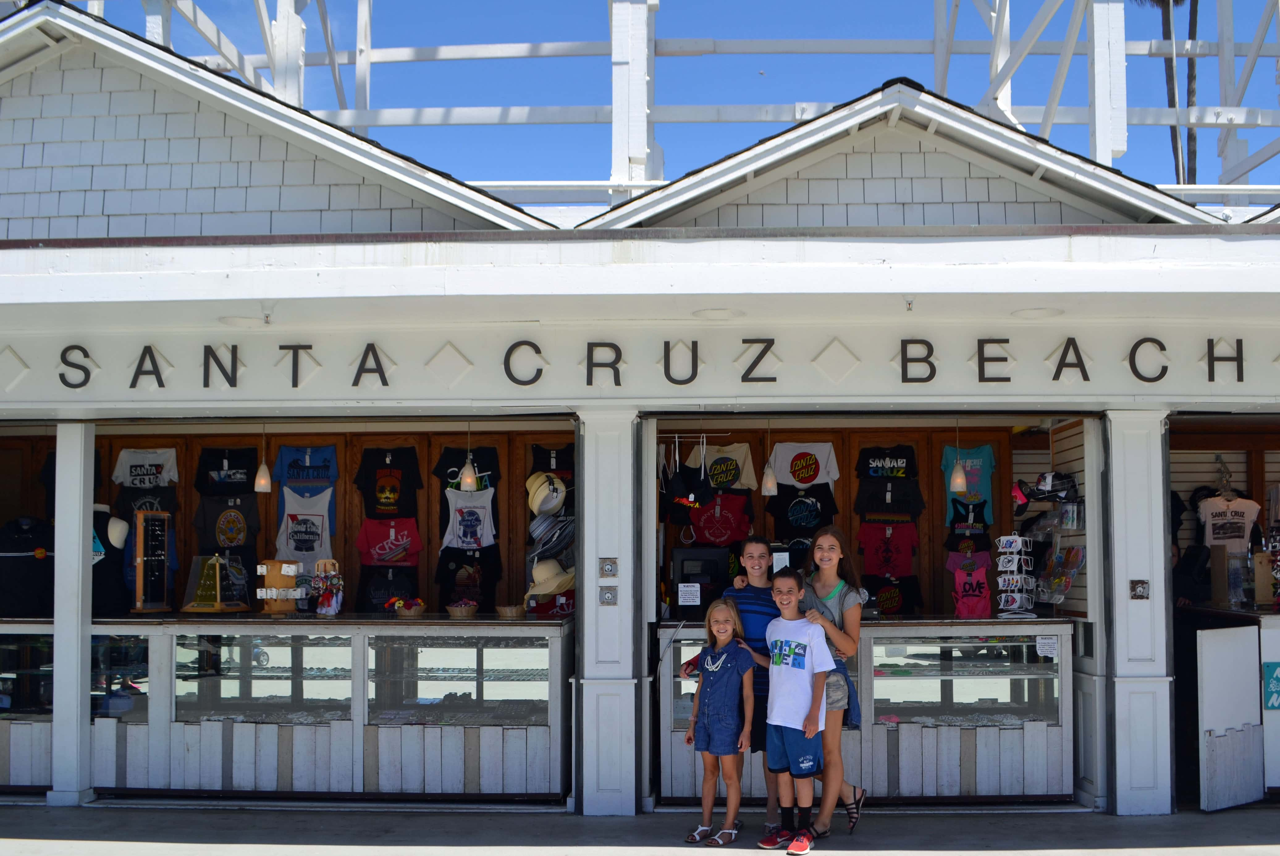 Santa Cruz California Pacific Highway 1 Road Trip Guide by Modern Honey. www.modernhoney.com
