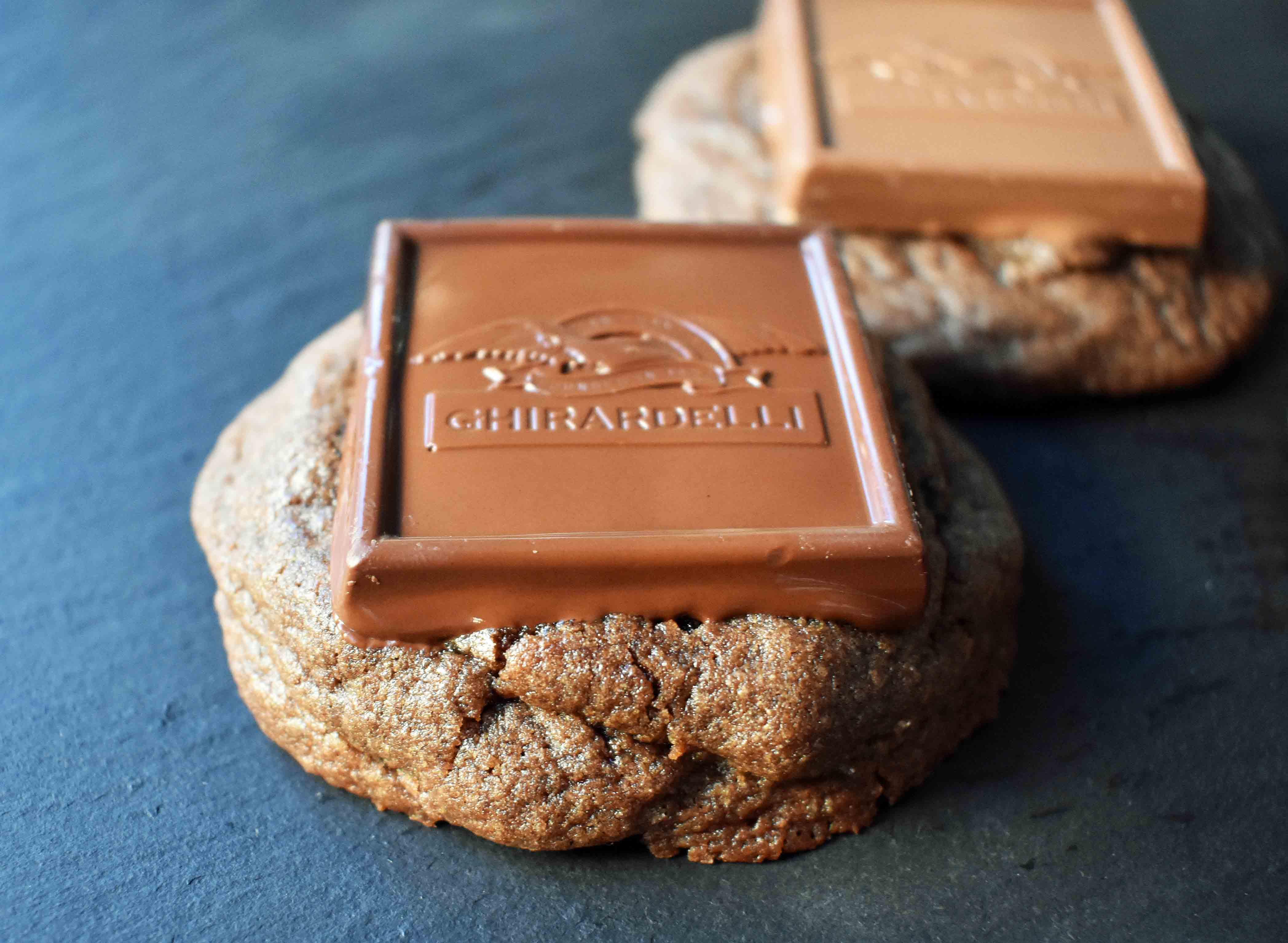 Ghirardelli Squares Chocolate Cookies | Modern Honey