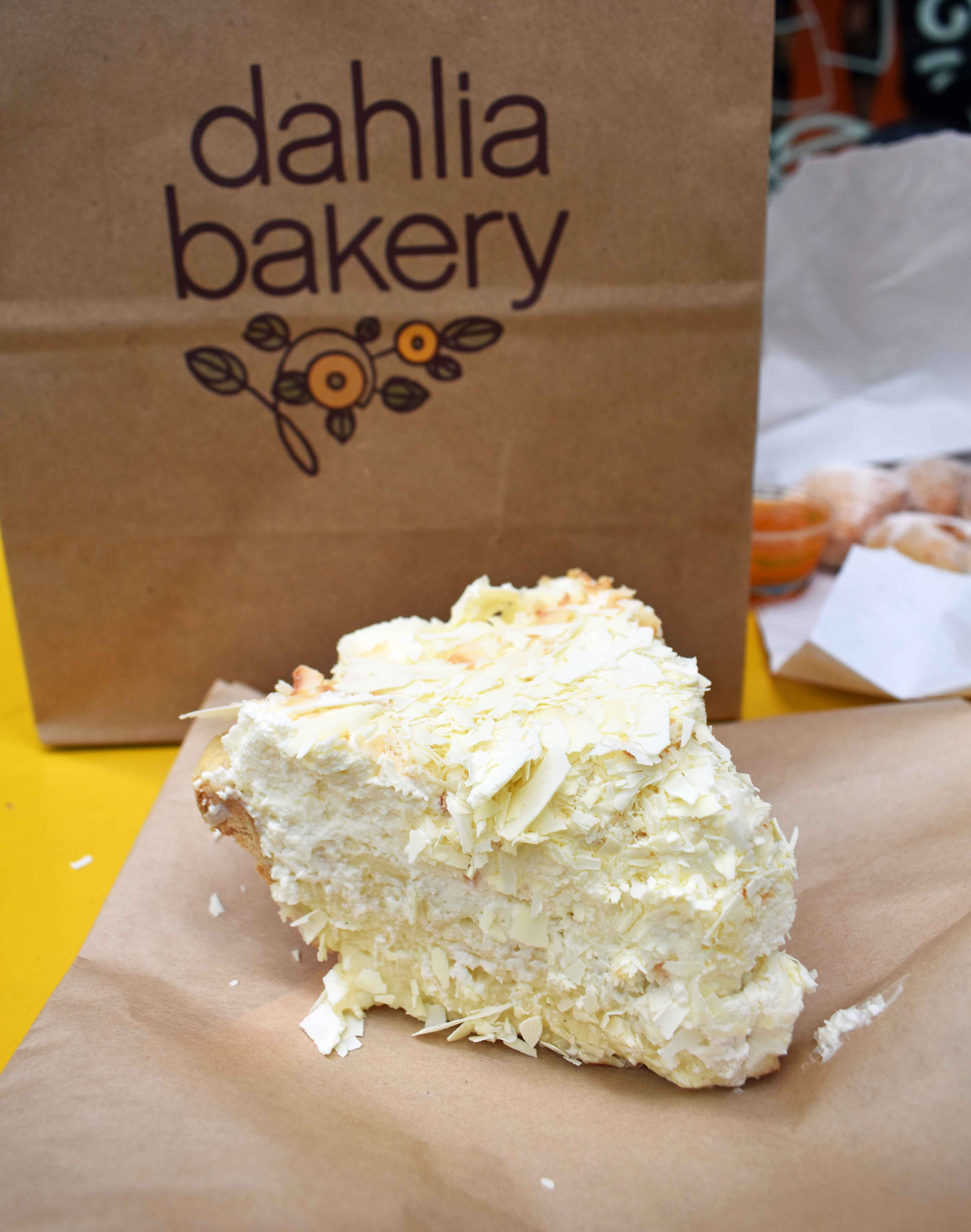 Coconut Cream PIe at Dahlia Bakery. Best Places to Eat and See in Seattle. The most popular spots to visit and the best restaurants. Tips on the best places to see in Seattle Washington. www.modernhoney.com