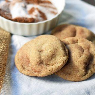 Brown Butter Snickerdoodles Cookies