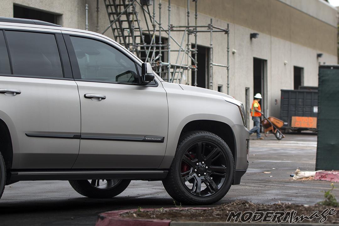 Cadillac Escalade New Look Suv Wrap Modern Image