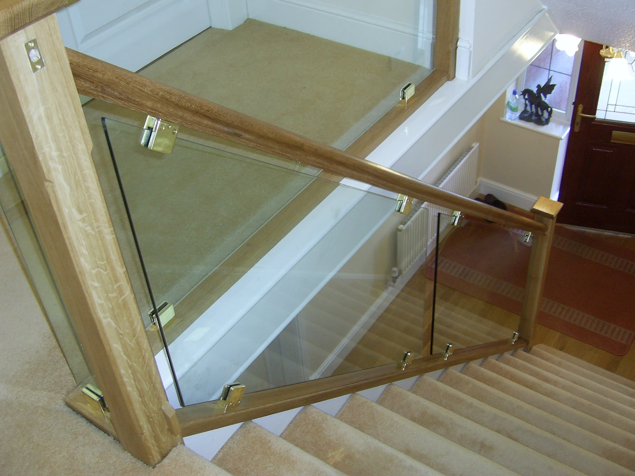 How To Fit Glass Panels For Stairs Plan Your Stairs Induced Info | Frosted Glass Stair Panels | Smoked | Toughened | Deck | Balcony | Contemporary