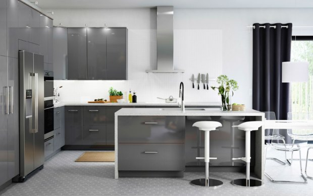 Reasons Why More Homeowners Are Choosing IKEA Kitchen Cabinets - Grey kitchen units sale