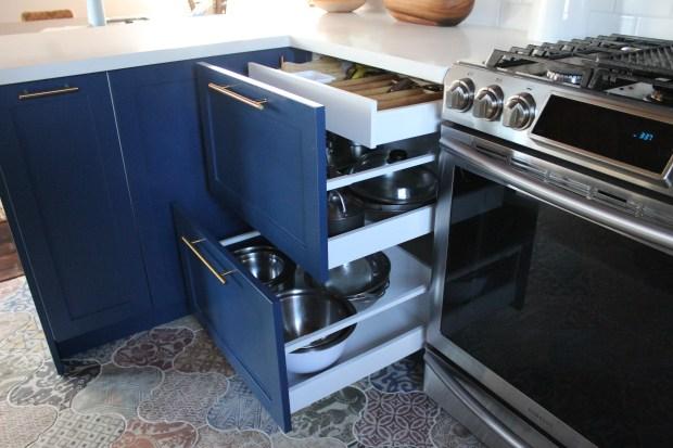 ikea kitchen custom drawers