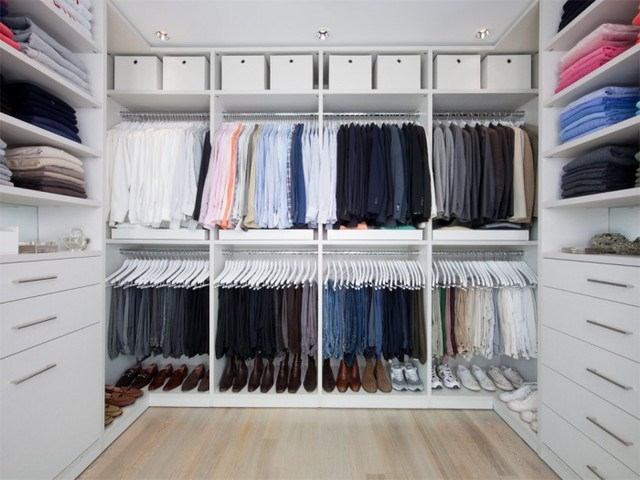 If You Guessed Right, The First Two Closets Are From IKEA... Yup!