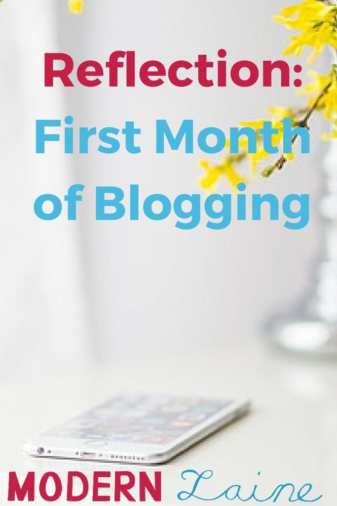 Reflection_ First Month of Blogging-2