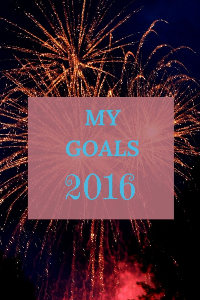Personal Goals for 2016