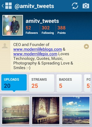 """Streamzoo Amit Verma Profile"""