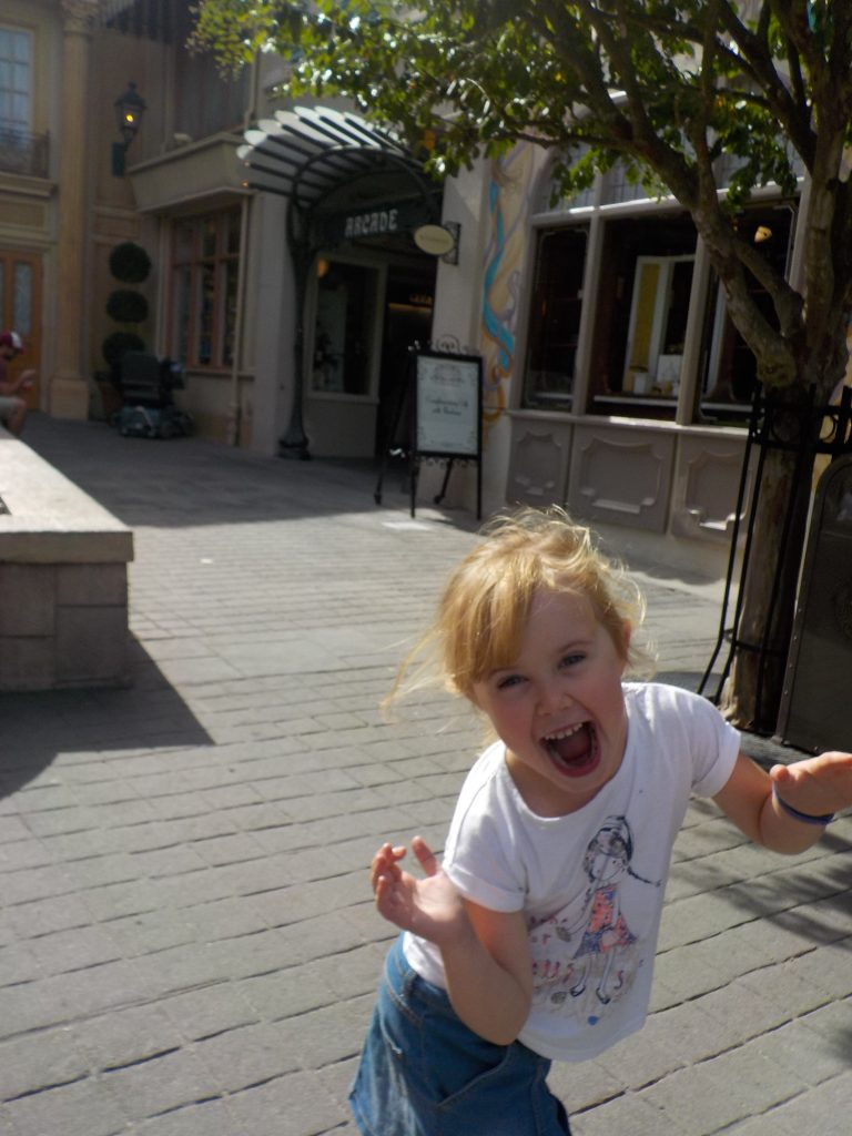 Having family Fun in France EPCOT
