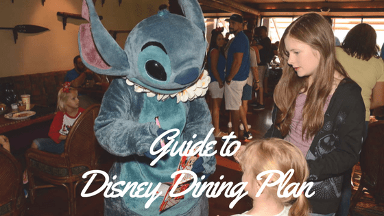 Disney Dining Plan Guide including Questions and Answers
