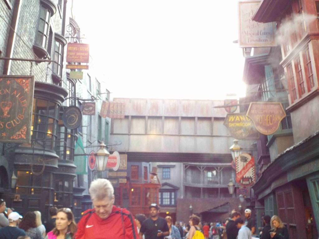 Diagon Alley Universal Studios Florida universal orlando resort