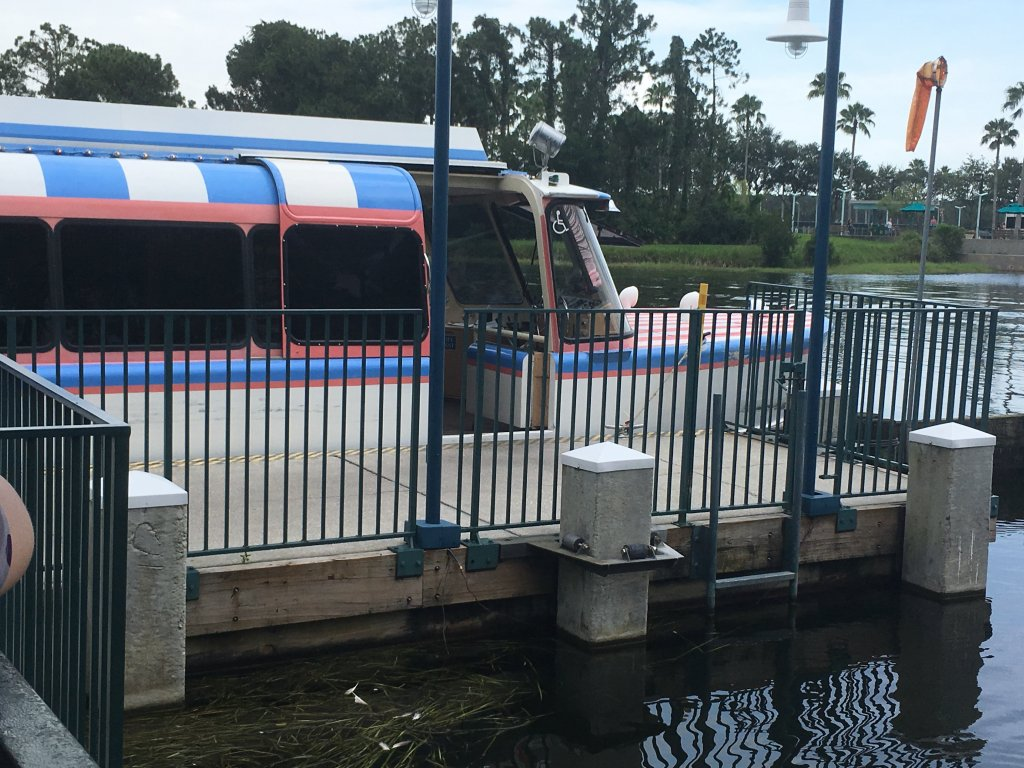 Friendship Boat to EPCOT
