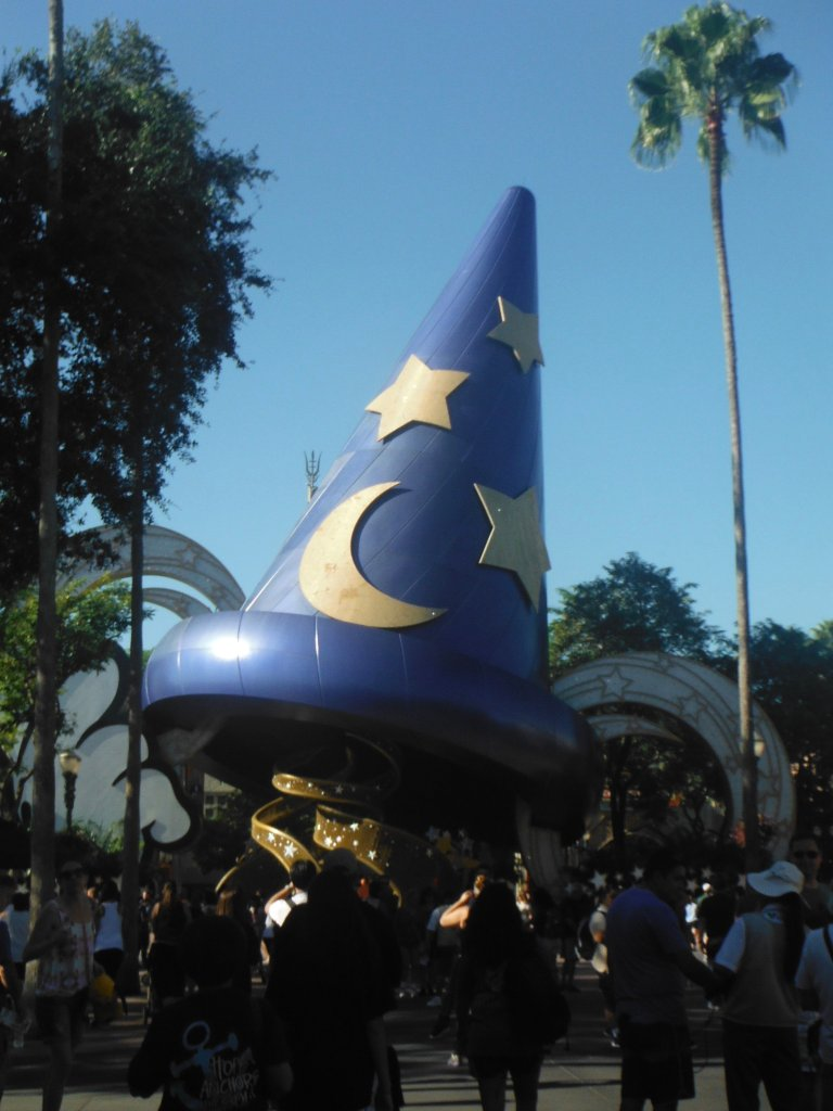 The Sorcerers Hat Hollywood Studios