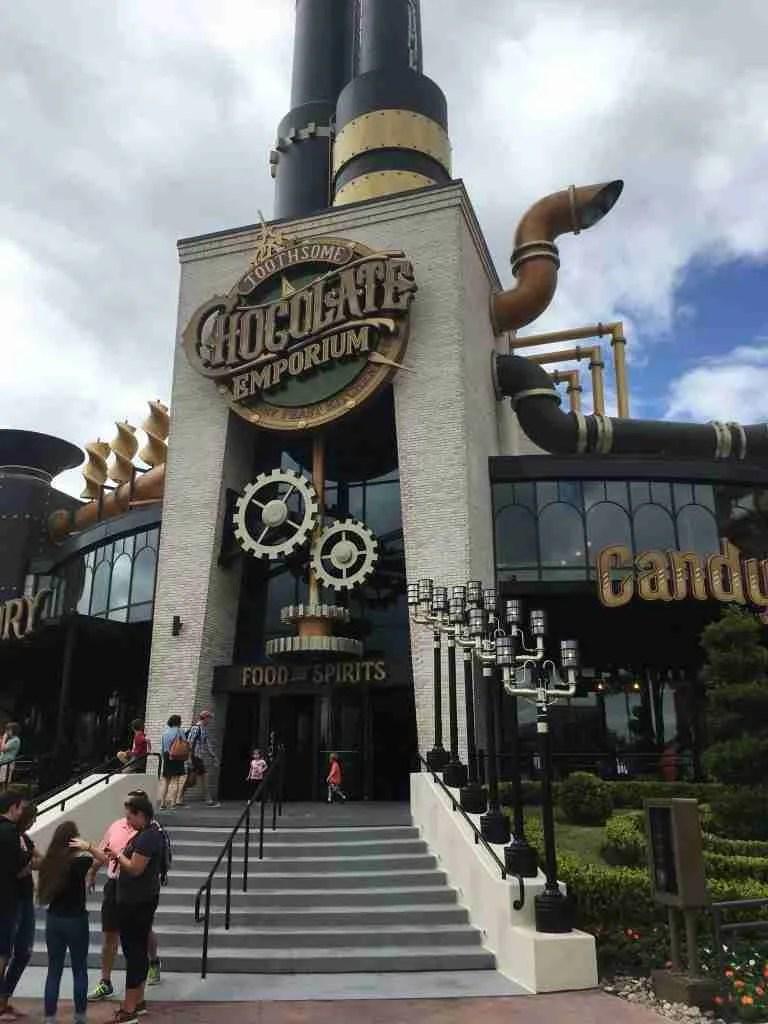 Toothsome Chocolate Emporium Orlando Universal Orlando
